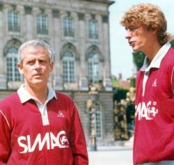 Aldo Platini et Arsène Wenger