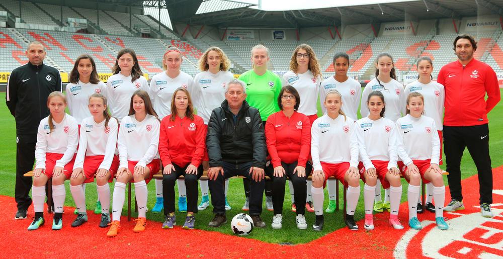 Les féminines U15 ASNL
