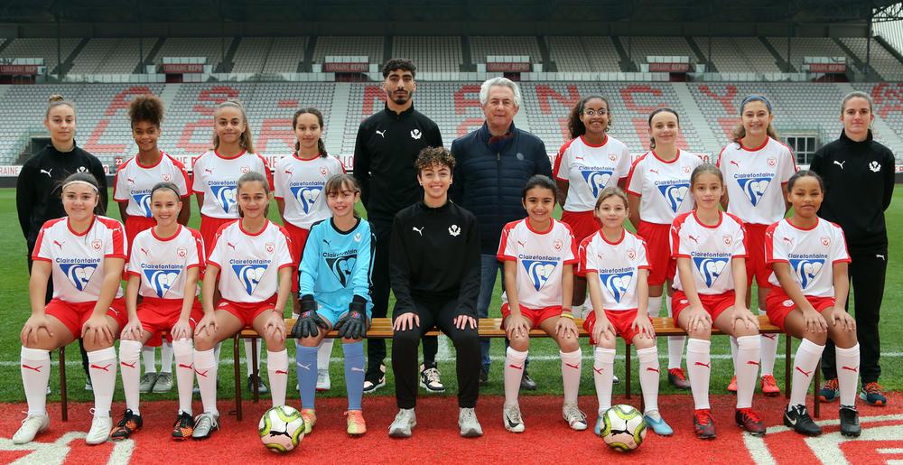 Les féminines U13 ASNL