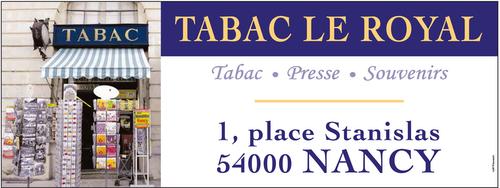 Tabac-Presse Le Royal (Place Stanislas)