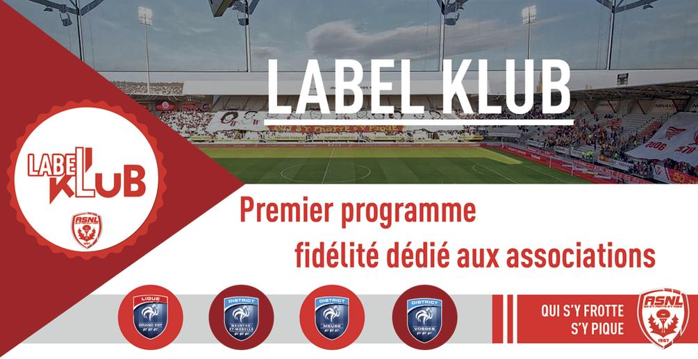 Label Klub : Le programme fidélité des clubs amateurs