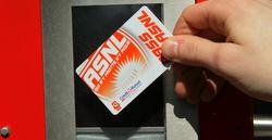 Présentation de votre PASS au contrôle d'accès