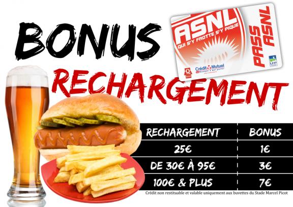 Bonus rechargement