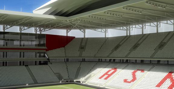 Visuel du futur stade Marcel-Picot