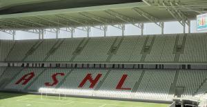 Visuel de la tribune Schuth du futur stade Picot