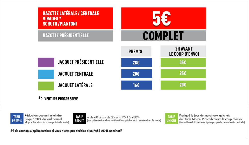 Les tarifs pour Nancy-Orléans