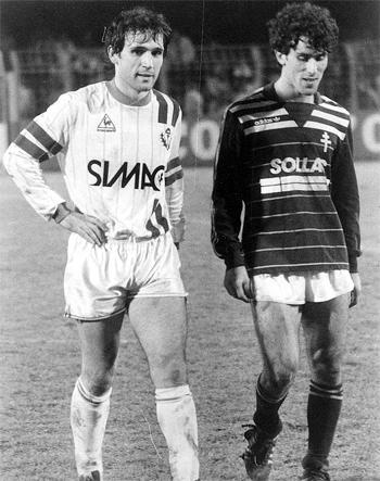 Défenseur de 1984 à 1987 (51 matchs, 3 buts)