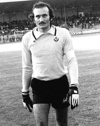 Gardien de 1972 à 1980 (45 matchs)