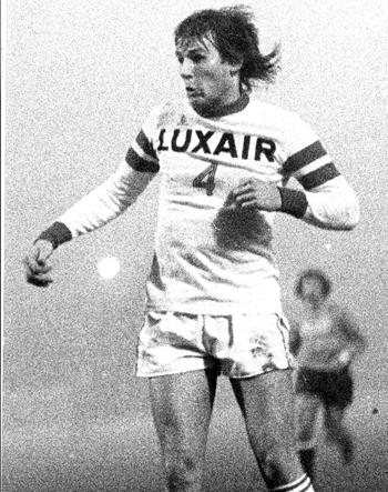 Défenseur de 1974 à 1979 (111 matchs, 7 buts)