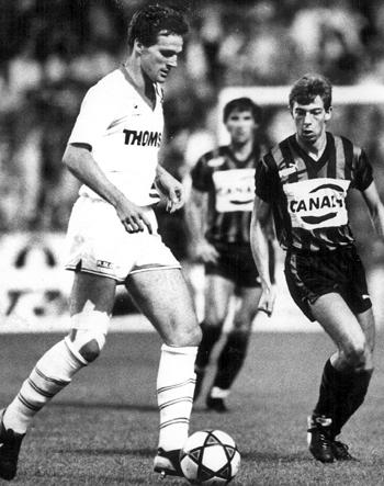 Défenseur de 1980 à 1988 (165 matchs, 2 buts)