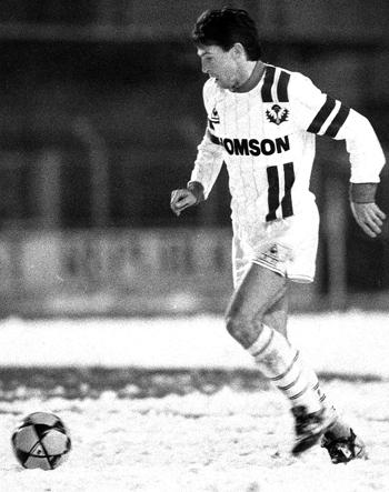 Défenseur de 1982 à 1987 (183 matchs, 2 buts)