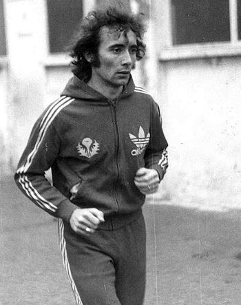 Attaquant de 1974 à 1977 (54 matchs, 5 buts)