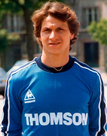 Gardien de 1985 à 1986 (37 matchs)