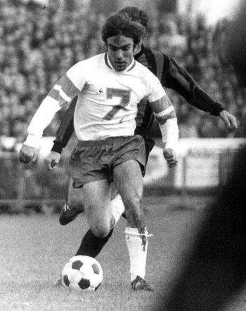 Attaquant de 1967 à 1971 (98 matchs, 28 buts)