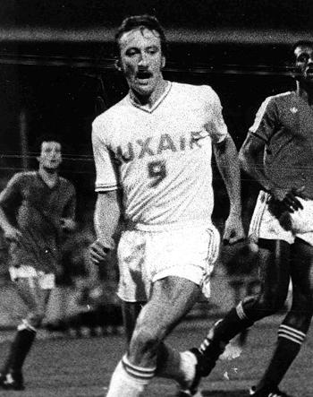 Attaquant de 1975 à 1977 (52 matchs, 18 buts)