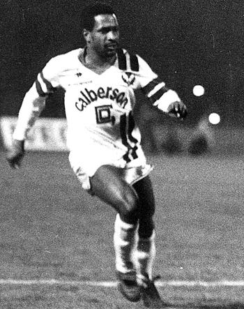 Attaquant de 1982 à 1985 (95 matchs, 27 buts)