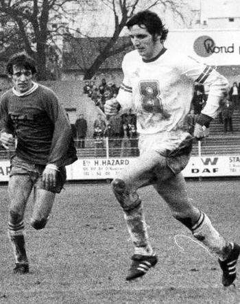 Milieu de 1967 à 1975 (102 matchs, 13 buts)