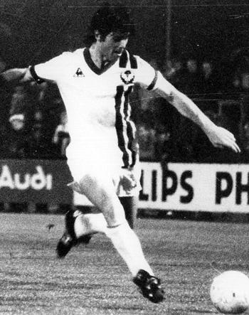 Attaquant de 1978 à 1979 (28 matchs, 7 buts)
