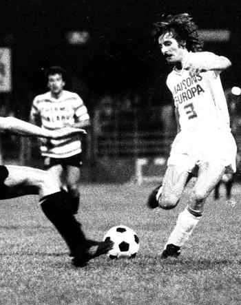 Défenseur de 1971 à 1979 (205 matchs, 5 buts)