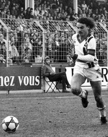 Attaquant de 1973 à 1981 (210 matchs, 73 buts)