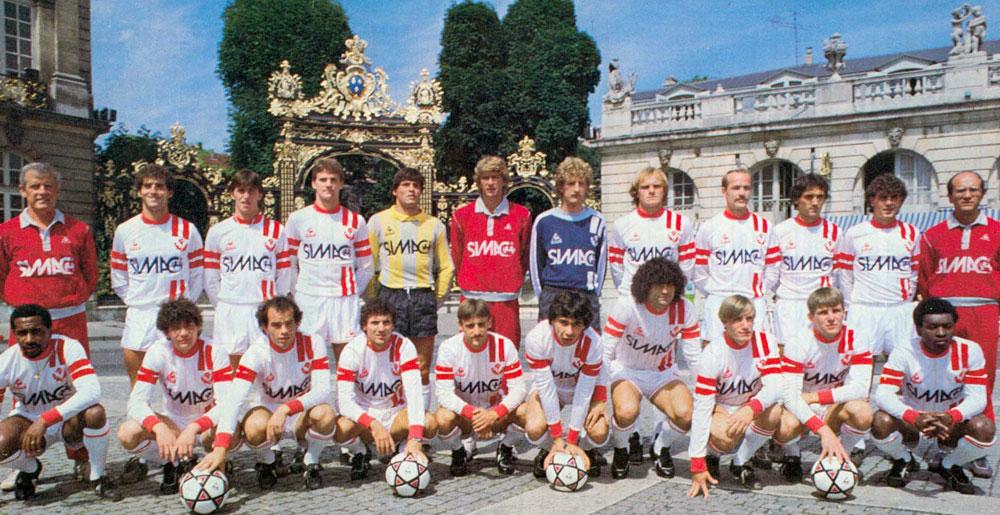 Wenger en 1984/1985
