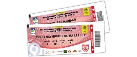 pour les rencontres face à l'OM et l'AS Monaco